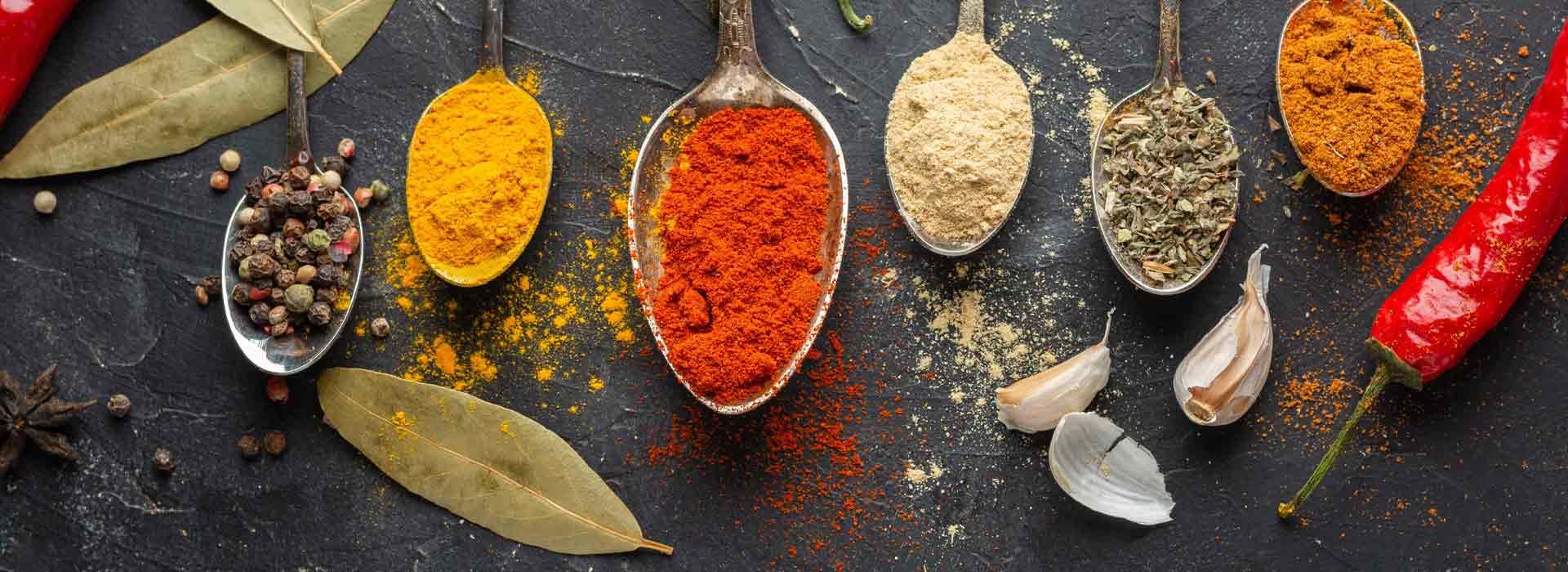 Vendita online di spezie e armoni per condire alimenti