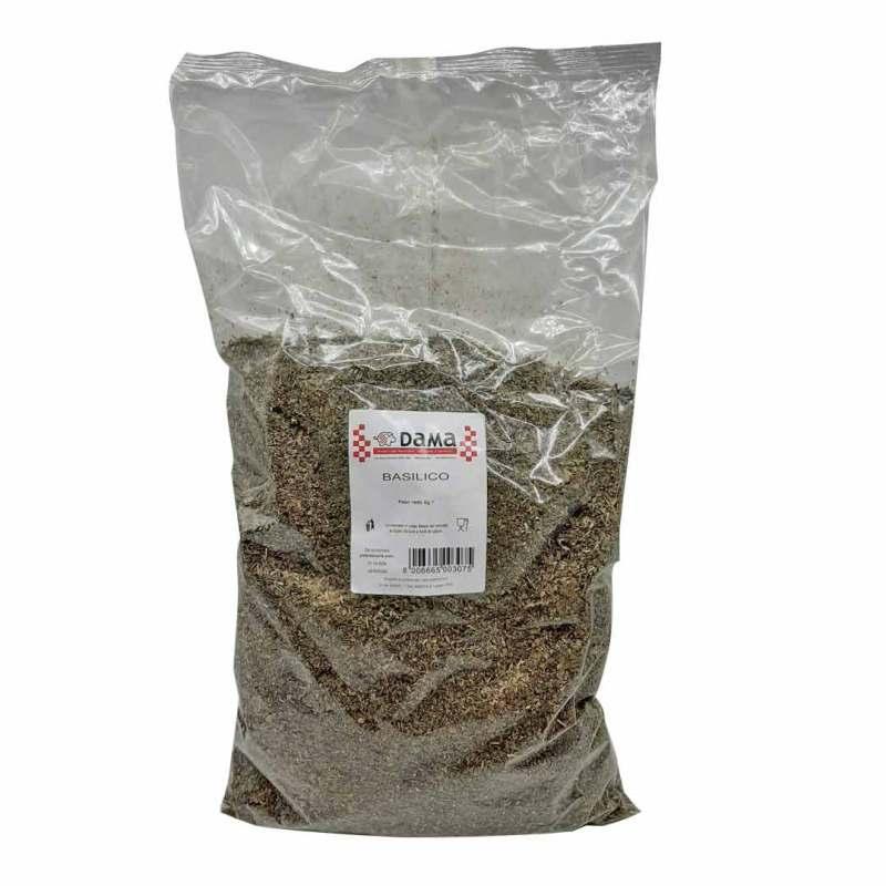 Basilico essiccato per salumi e salmistrati - Dama Srl