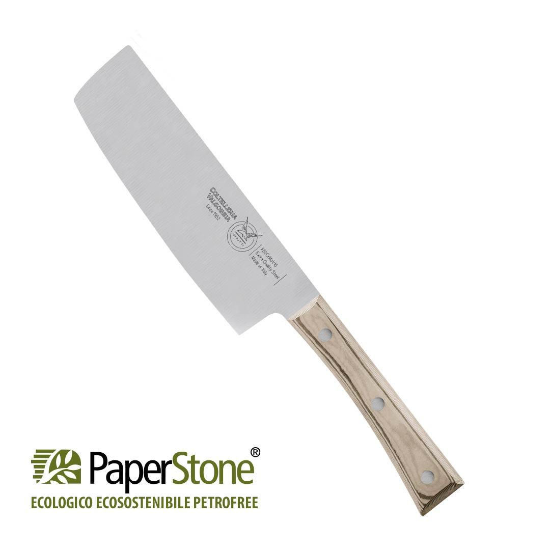 Coltello NAKIRI 16 cm. - coltelli giapponesi - PAPERSTONE Valgobbia - Dama Srl