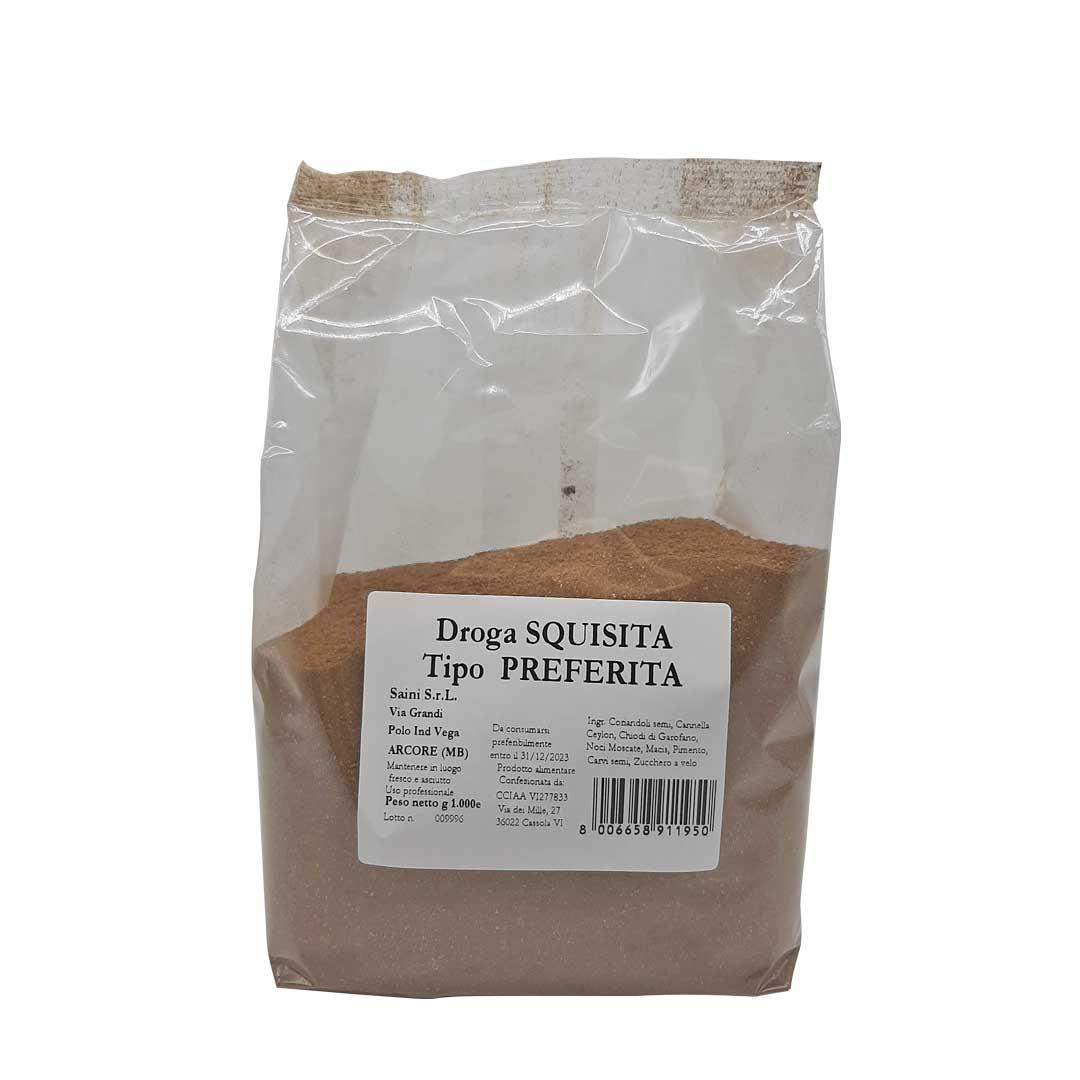 Droga Preferita per insaporire salumi e salmistrati - Confezioni da 100 gr a 1 kg
