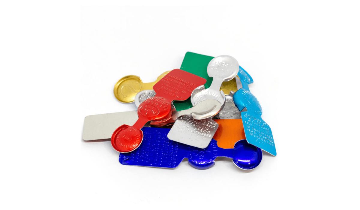 Sigilli in alluminio per insaccati