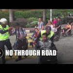 Lack of wheelchair-friendly road crossing at MidValley disappoints disabled community