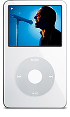 iPod blanco