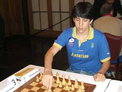 David Recuero, campeonato de España de León 2006