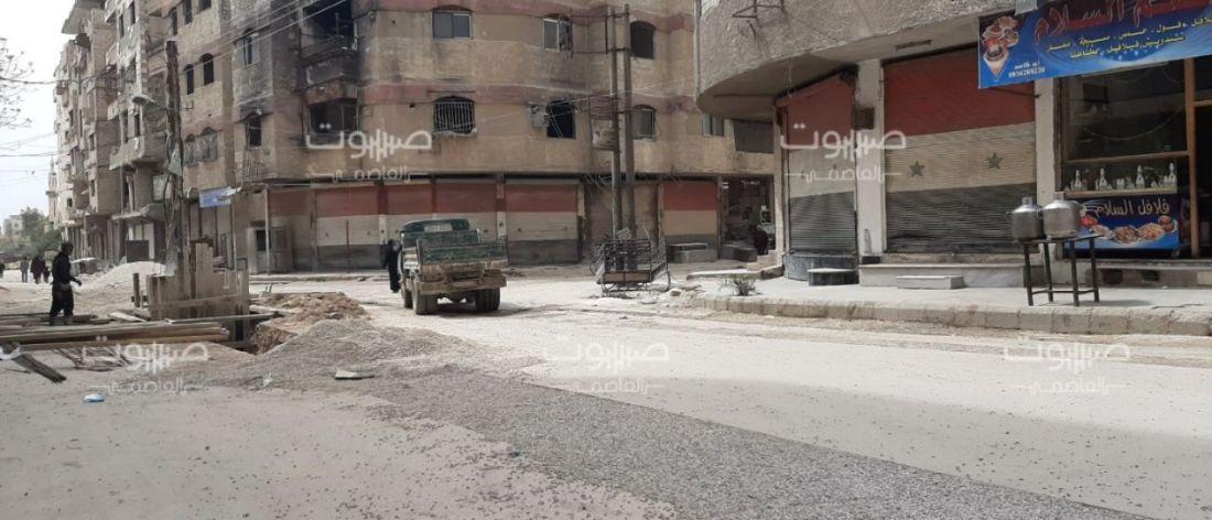 بينهم عناصر دفاع مدني.. الحرس الجمهوري يعتقل 14 شاباً من أبناء عين ترما