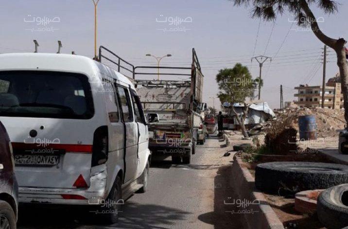 مستخدماً طائراته ودباباته.. معارك عنيفة في مدينة الضمير، والنظام يرتكب مجزرة على أطرافها