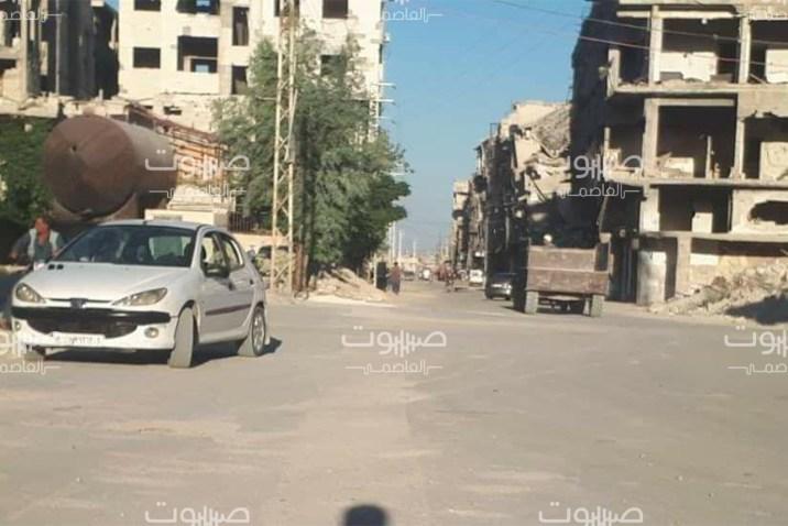 النظام يفرج عن شاب من أبناء مدينة حرستا بريف دمشق