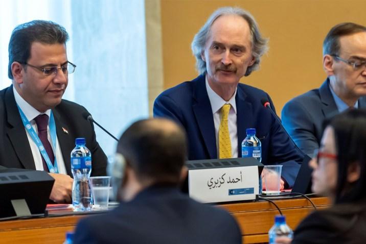 إصابة جديدة بفيروس كورونا بين وفود اللجنة الدستورية في جنيف