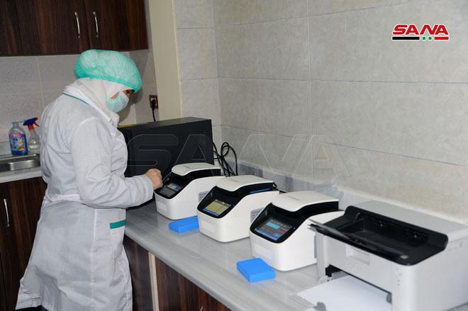 افتتاح أول مركز تحاليل خاص بكورونا للمقيمين داخل سوريا