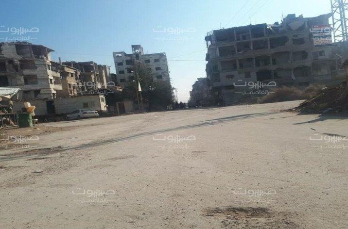 النظام يفرج عن شاب من أبناء حرستا في ريف دمشق