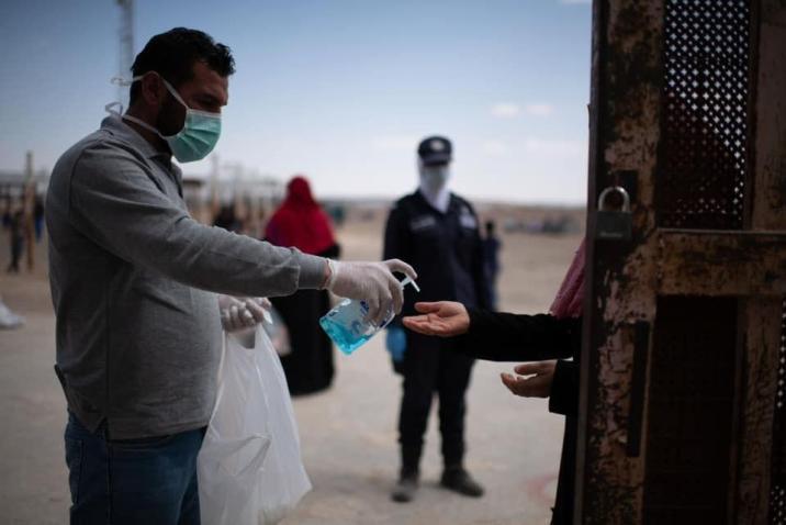 تسجيل أول إصابتين بكورونا بين اللاجئين السوريين في الأردن