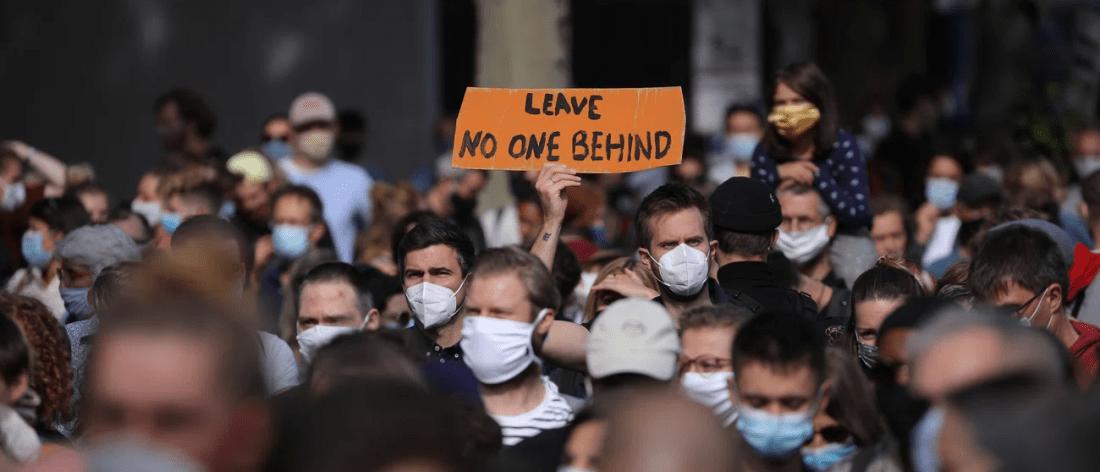 مظاهرات في مدن ألمانية تطالب باستقبال لاجئين من اليونان
