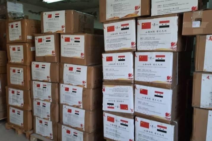 الصحة تتسلّم دفعة مساعدات طبية جديدة من الصين