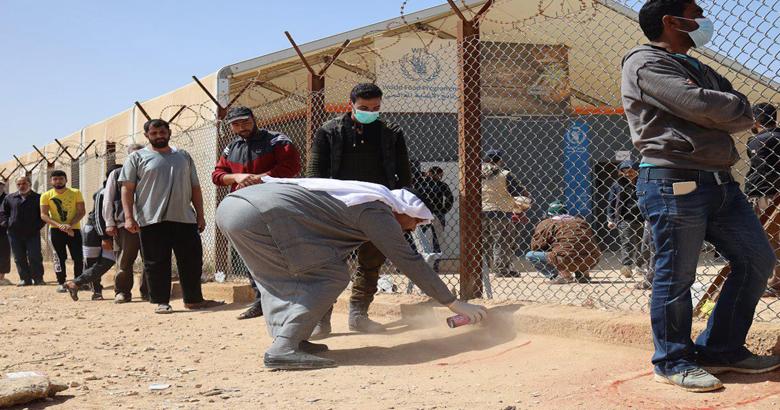 الأردن: تسجيل 3 إصابات بكورونا في مخيم الزعتري للاجئين السوريين