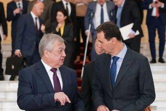 "وفد روسي رفيع يزور دمشق لبحث ""مؤتمر اللاجئين"""
