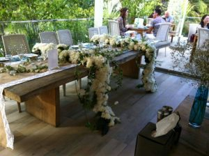 Graceful White Table Decor - 2