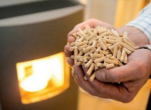 burning-pellets-stove