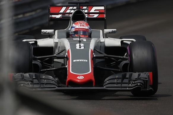 Romain Grosjean, Haas F1 2016