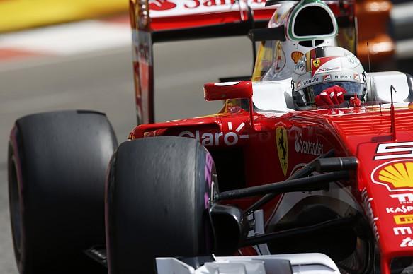 Sebastian Vettel, Ferrari, Monaco GP 2016