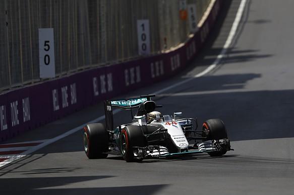 Lewis Hamilton, Mercedes, Baku 2016