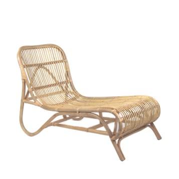 Chaise longue en bambou Kim de Pomax - 265€ chez Drawer