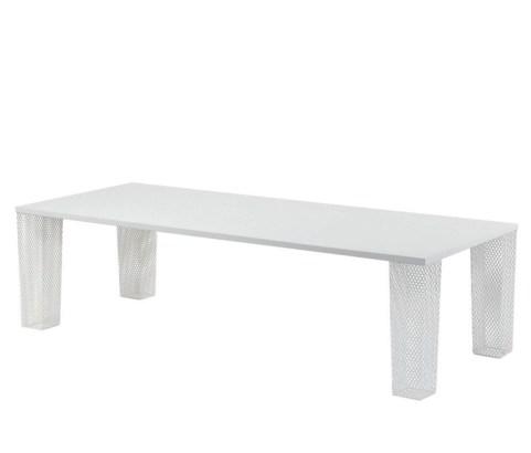 Table Ivy rectangulaire en tôle 8/10 pers, Emu - 1568€ chez Nunido