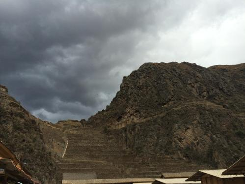 Archaeological parks like this one in Ollantaytambo are in danger.