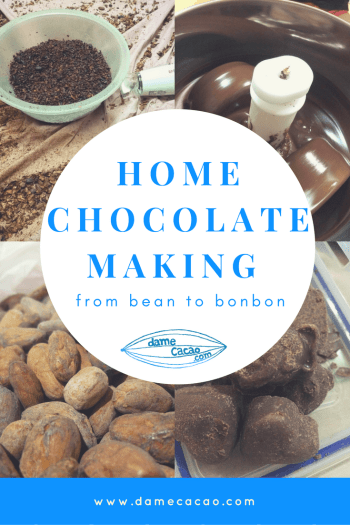 Home Chocolate Making Bean to Bonbon Goat Milk Ecuador Cacao