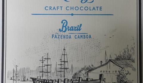 dick taylor brazil fazenda camboa 75% front of bar packaging