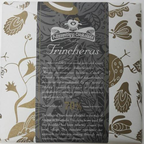 *Rózsavölgyi Csokoládé Trincheras 70%
