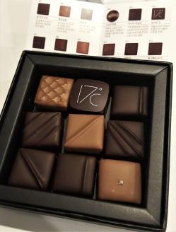 17 dossi chocolate truffles hongdae box
