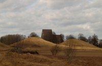 Old Uppsala, Royal Mounds, April 11
