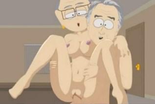 South Park: Bývalý prezident George Bush klátí pana učitele Garrisona