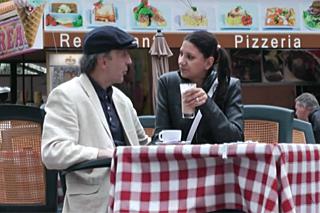 Německá lolitka si zašoustá se starším kouskem z ulice