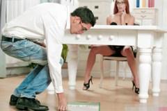 Néžný kancelářský sex s kolegou, aneb sekretářka Susana Melo v akci