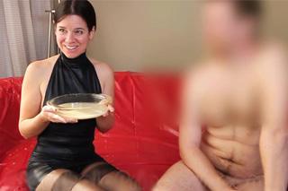 Gokkun: Zvrhlá Piper a obří dávka spermatu!