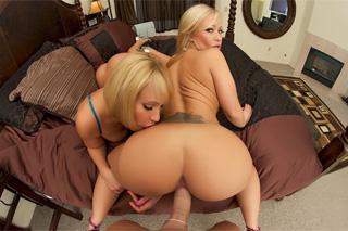 Austin Taylor a Mellanie Monroe: Blonďaté sexbomby v grupáči!