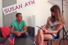 Casting na pornoherce s agenkou Susan Ayn – české porno