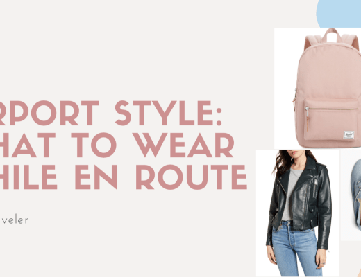 Airport Style: What To Wear While En Route