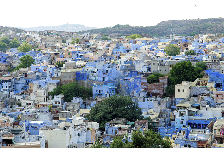 Getting Lost in Jodhpur: India's Blue City