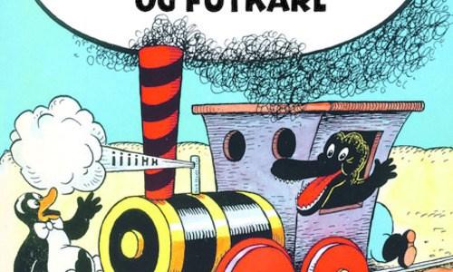 Vestjyske jernbaner og danske tegneseriestriber
