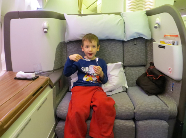 Cathay Pacific First Class NYC JFK To Vancouver YVR
