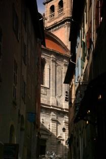 Dans les rues étroites de la Citadelle