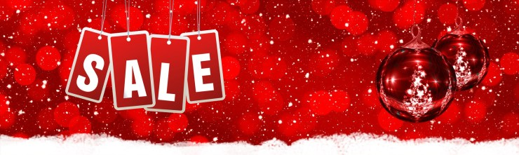 Canva - Christmas Discount Poster Design