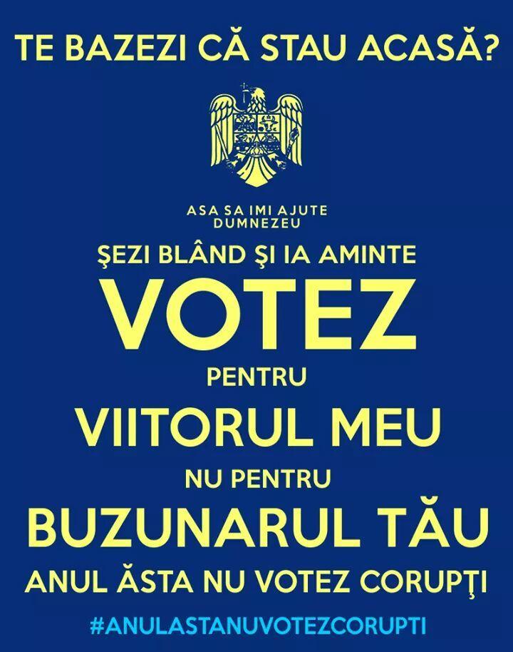 #AnulAstaNuVotezCoruptii