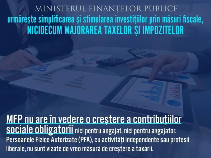 Știre dezinformată de Ministrul Finanțelor Publice, Anca Dragu