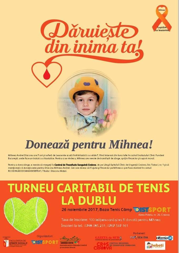 Turneu tenis caritabil