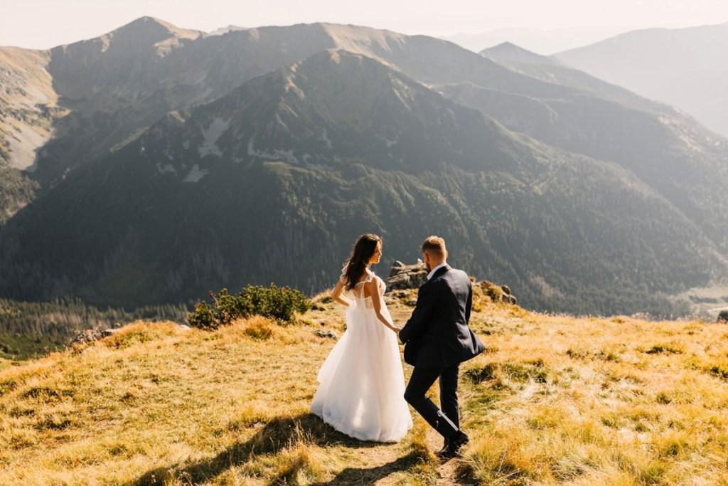 Kasprowy Wierch sesja ślubna