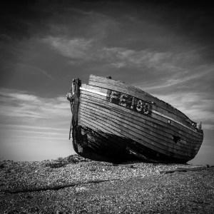 Boat Dunegeness Kent Landscape Photography