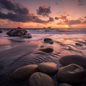 Porth Nanven Cornwall Landscape Photography
